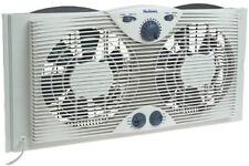 3 Speed Twin Window Fan Reversable Indoor Air Cooloing Exhaust Water Resistant