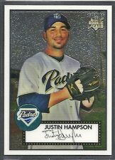 2007 Topps '52 Chrome Baseball - #92 - Justin Hampson - San Diego Padres