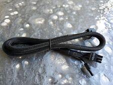 Singal VGA Modular Cable 8pin to 6pin EVGA B2/G2/P2/T2/G3 Power Supply PSU BLACK