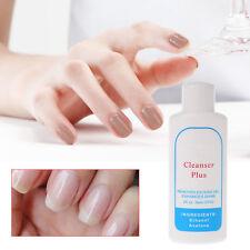 UV Gel Nail Art DIY Excess Gel Remover cleanser plus Cleaning Enhances shine 60g
