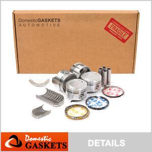 86-95 Suzuki Swift Samurai Sidekick 1.3 Full Gasket&Piston&Bearing&Ring Set G13A