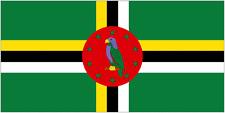 DOMINICA FLAG 3' x 2' Dominican Caribbean Flags