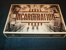 Incarceration Family Board Game by Risk Takers 2001 Factory