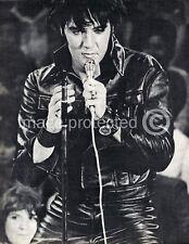 Elvis Presley Vintage Black and White concert  Music 11x17 Poster