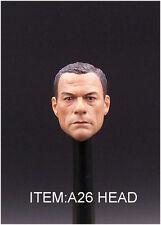 Custom 1/6 Scale Jean-Claude Van Damme Head Sculpt For Hot Toys Body In Stock