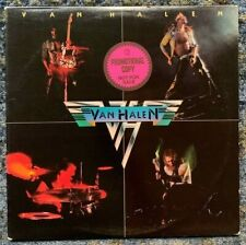 Van Halen ‎- debut self titled LP - Promotional Copy vinyl VG+ 1st pressing