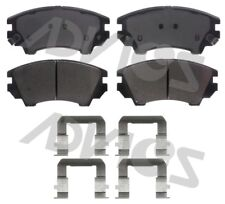Disc Brake Pad Set-Ultra-premium Oe Replacement Front ADVICS AD1404