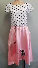 BNWT Ladies Size XL 16 50s Bopper Costume Fancy Dress Fantastic Dress Scarf Belt