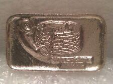 LIBI-5 Watergate Hotel 999 Silver Art Bar Very Rare Find Nixon