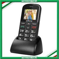 ✅ TELEFONO CELLULARE ANZIANI NONNI ARTFONE CS182 TASTI GRANDI SOS BASE RICARICA✅