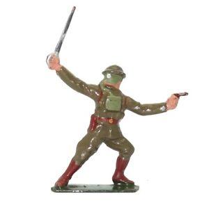 BRITAINS PRE-WAR SET 1627 U.S.A. OFFICER WITH SWORD - 1939