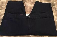 St Johns Bay Women Jean 22W Capri Crop Jean Trouser Stretch Dark Wash Casual.