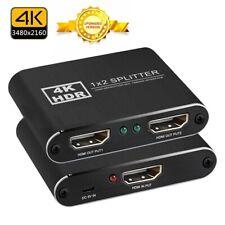 4K HDMI Splitter 1 in 2 Out Full HD 3D 1080P HDCP1.4 or HDCP2.2 HDMI Splitter