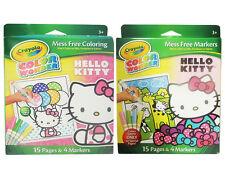 Crayola Color Wonder Hello Kitty, 15 Pages & 4 Markers - Pages May Vary