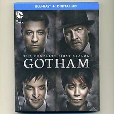 Gotham: Complete First Season 2014-15, new Blu-ray set with UV code James Gordon