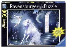 RAVENSBURGER JIGSAW PUZZLE GLOW IN THE DARK MYSTICAL NIGHT 500 PCS #14883