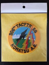JASDF JAPAN AIR SELF DEFENSE FORCE 306TH TACTICAL FIGHTER SQUADRON KOMATSU PATCH