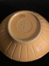 Longaberger Contour Swoop Serving Bowl - Butternut
