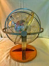 1950's Farquhar Transparent Celestial Navagation Globe - armillary sphere