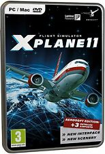 X-PLANE 11 XPLANE FLIGHT SIMULATOR AEROSOFT EDITION PC MAC LINUX NUOVO