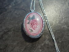 PINK ROSE LOCKET
