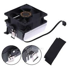 3Pin Silent DC 12V CPU Cooling Fan Heatsink Cooler Radiator for AMD754 939 AMD