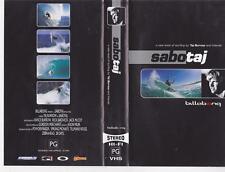 SURFING SABOTAJ  VHS VIDEO PAL~ RARE FIND mint sealed