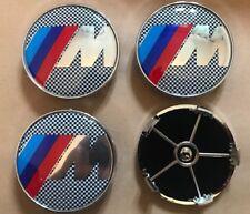 Lot de 4 68 mm Msport 5 Pin Wheel Centre Caps pour BMW