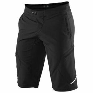 100% RIDECAMP Mountain Bike Shorts Black - 34