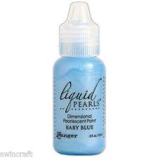 Ranger Liquid Pearls Pearlescent Paint BABY BLUE 18ml