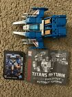 Transformers Titans Return Autobot Topspin & Freezeout - 100% Complete