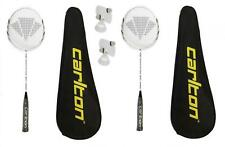 2 x Carlton Razorblade Tour Badminton Rackets + 6 Carlton Shuttlecocks RRP £395