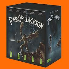 Rick Riordan | Percy Jackson (Band 1-5) | Band 1+2+3+4+5 im Schuber TB (Buch)