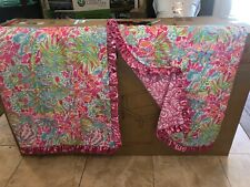 Custom Lilly Pulitzer Reversible Window Valance