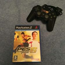 PS2 - PES 6 Game with Matching Controller