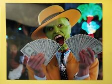More details for jim carrey hand signed 10 x 8 photo autograph the mask actor free postage