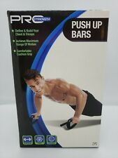 Pro Strength Push Up Bars Soft Hand Grips Define Build Chest Triceps Pair of 2
