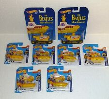 Hot Wheels 8 × Yellow Submarine Beatles 2 x Retro Entertainment 6 x Screen Time