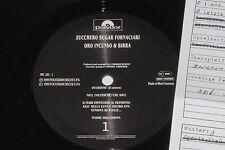 Zucchero Sugar Fornaciari-Oro incenso... - LP 1989 POLYDOR archivio-copy MINT