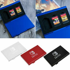 6 in 1 Aluminium Alloy Game Card Cartridge Case Storage Box for Nintendo Switch