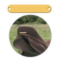 Pferde Schild mit Gravur - Stall Sattel Sattelschild Pferdeschild