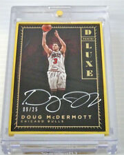 Autographed Chicago Bulls Original Basketball Trading Cards