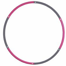 Fitness Mad Weighted Hula Hoop 1.1Kg Abs Abdominal Fitness Training Gym Workout