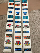IGT Used S-Plus slot machine SEVENS UP  -  REEL STRIPS