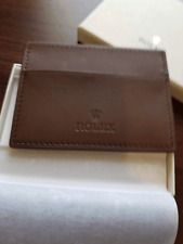 Rolex Slim Credit Card wallet