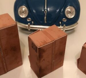 1/43 Scale Old Boxes Parts Diorama Garage Dolls-house [Set of 3 + 3 FREE]