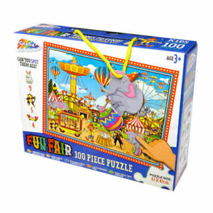Children's Grafix FunFair Things To Find 100 Pieces Jigsaw Puzzle Set Xmas Gift