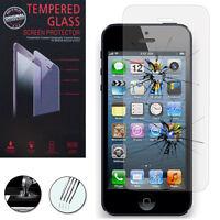 Schutzglas für Apple iPhone 5/ 5S/ 5SE/ iPhone SE Echtglas Display Schutzfolie