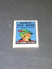 Livre miniature micro livre format 4x3cm Robin des bois