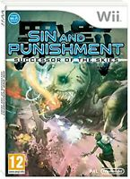 Sin and Punishment Successor of the Skies Nintendo WII Video Game UK Release